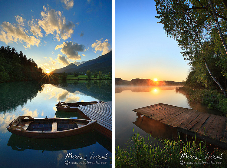 Jezero Černava / Hodoško jezero