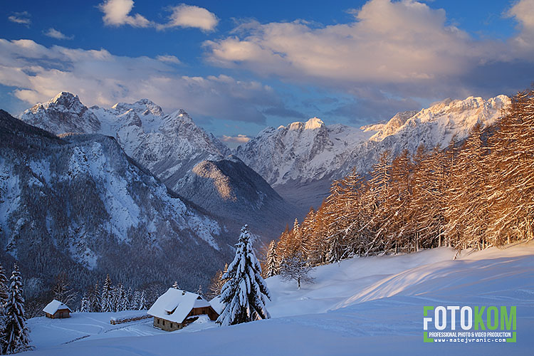 Julijske Alpe iz Karavank