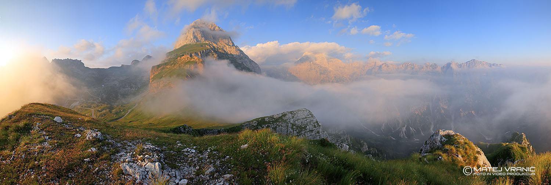 7 panorama Mangarta z Malega vrha