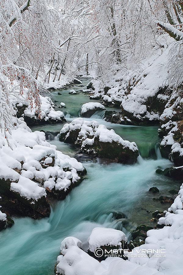 Reka Radovna pri Blejskem vintgarju