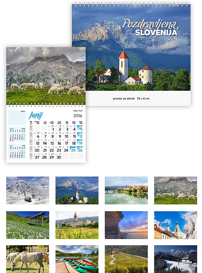 11 Koledarji 2016 - EUROGRAF- pozdravljena slovenija