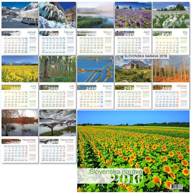 17 koledar - SLOVENSKA NARAVA Reccom