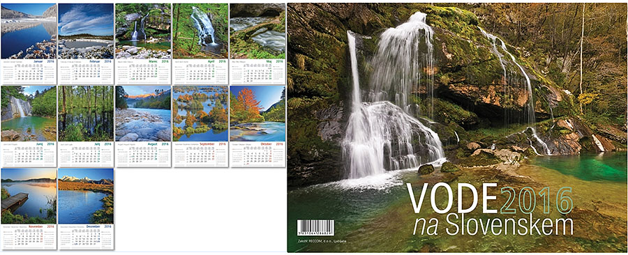 18 koledar - VODE NA SLOVENSKEM Reccom