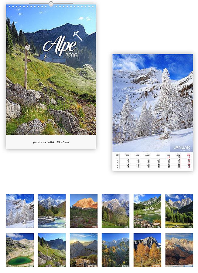 6 Koledarji 2016 - EUROGRAF- alpe